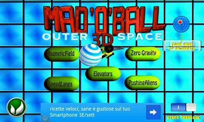 Mad O Ball 3D Outerspace