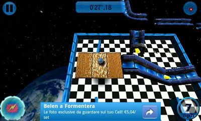 Mad O Ball 3D Outerspace screenshot 1
