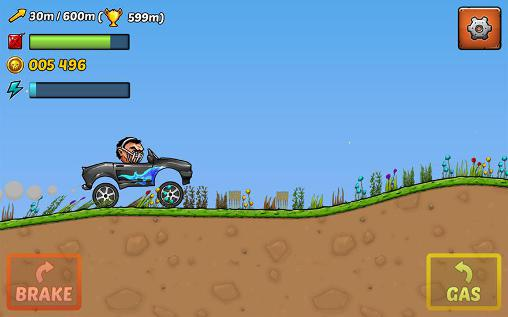 Mad puppet racing: Big hill screenshot 3