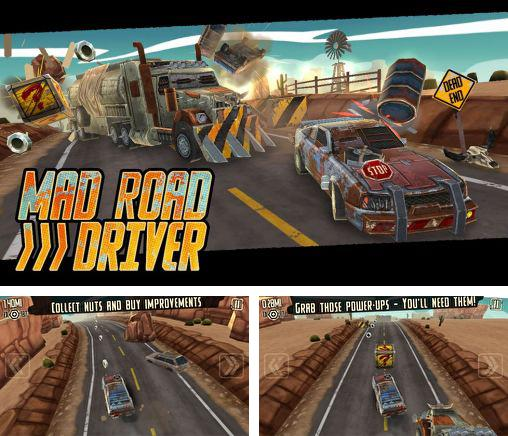 In addition to the game Cubicle Golf for Android phones and tablets, you can also download Mad road driver for free.