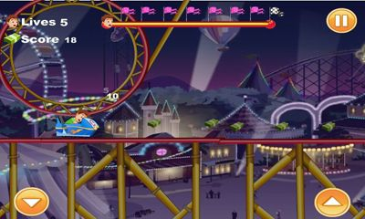 Screenshots do Mad Roller Coaster - Perigoso para tablet e celular Android.