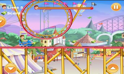 Jogue Mad Roller Coaster para Android. Jogo Mad Roller Coaster para download gratuito.