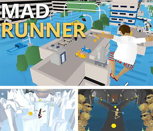Mad runner: Parkour, funny, hard!