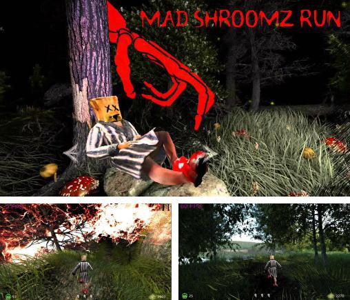 In addition to the game Shadow Snake HD for Android phones and tablets, you can also download Mad shroomz run for free.
