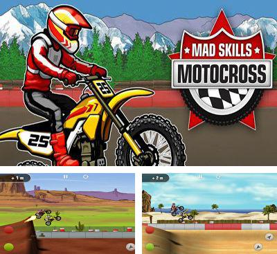 In addition to the game Moto Locos for Android phones and tablets, you can also download Mad Skills Motocross for free.
