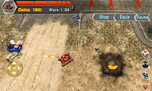 Mad tanks screenshot 1