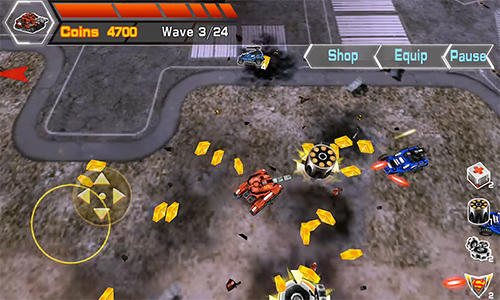 Mad tanks screenshot 3