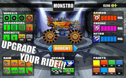 Screenshots von Mad truck challenge: Racing für Android-Tablet, Smartphone.