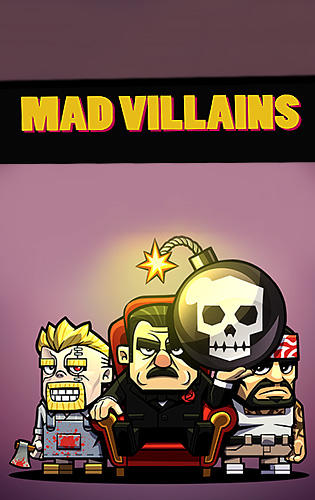 Mad villains poster