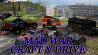 Mad war: Craft and drive APK