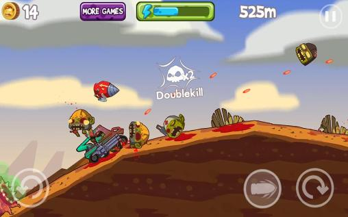 Jogue Mad zombies: Road racer para Android. Jogo Mad zombies: Road racer para download gratuito.