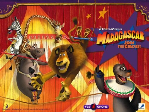Madagascar: Join the circus обложка