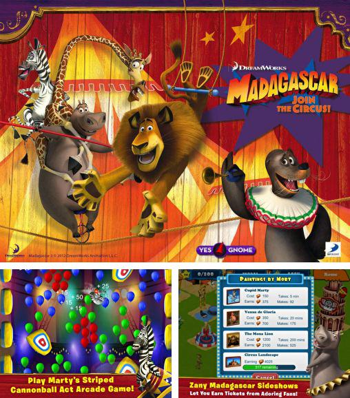 In addition to the game Nemo's Reef for Android phones and tablets, you can also download Madagascar: Join the circus for free.