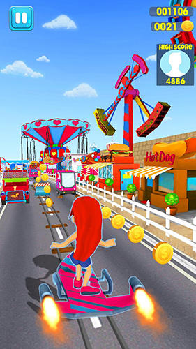 玩安卓版Madness rush runner: Subway and theme park edition。免费下载游戏。