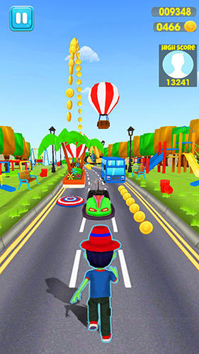 Screenshots von Madness rush runner: Subway and theme park edition für Android-Tablet, Smartphone.