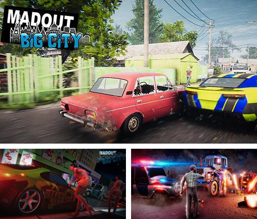 In addition to the game Madout 2: Big city for Android, you can download other free Android games for Acer Liquid E3.