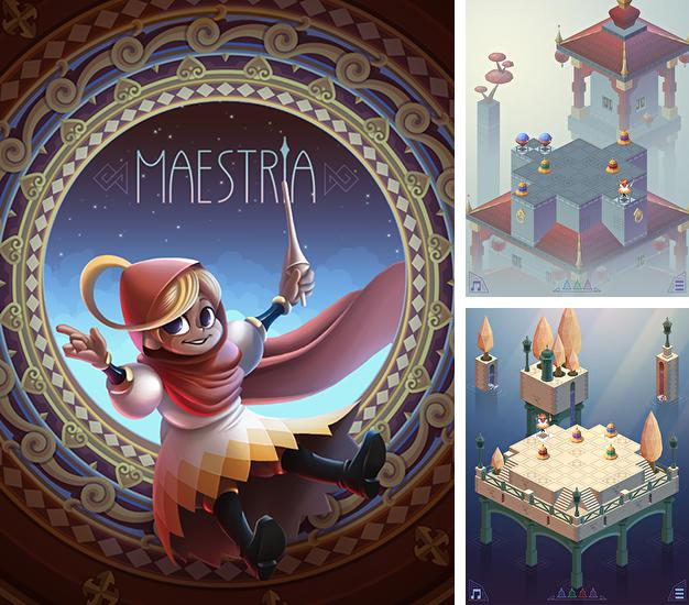 In addition to the game Skyward for Android phones and tablets, you can also download Maestria for free.