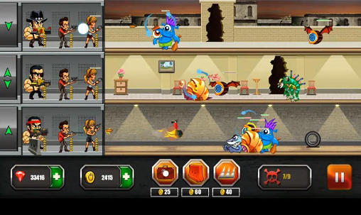 Jogue Mafia vs monsters para Android. Jogo Mafia vs monsters para download gratuito.