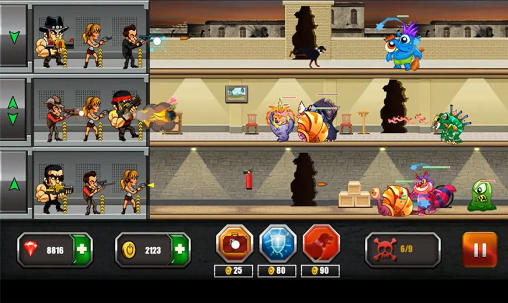 Screenshots do Mafia vs monsters - Perigoso para tablet e celular Android.