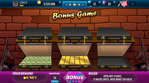 Mafioso casino slots game screenshot 2