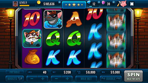 Mafioso casino slots game screenshot 3