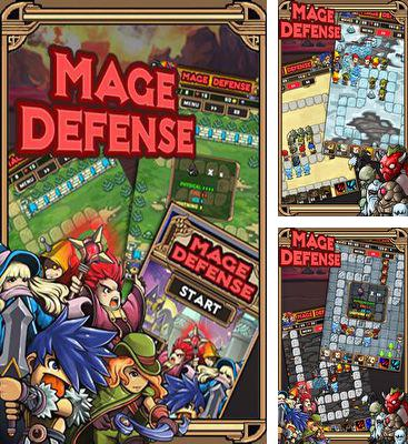 In addition to the game Run Like Hell! for Android phones and tablets, you can also download Mage Defense for free.