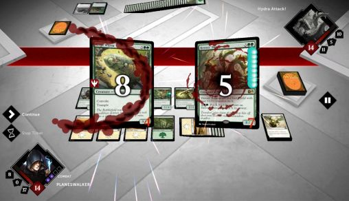 Juega a Magic 2015: Duels of the planeswalkers para Android. Descarga gratuita del juego  Magia 2015: Duelo de los que caminan por los bordes.