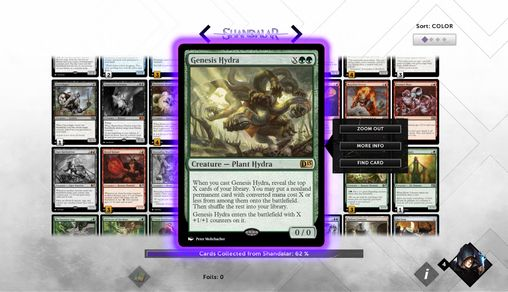 Screenshots do Magic 2015: Duels of the planeswalkers - Perigoso para tablet e celular Android.
