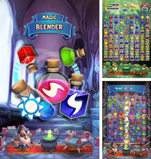 In addition to the game Dark ages saga for Android phones and tablets, you can also download Magic blender for free.