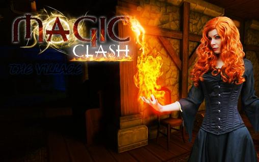 Magic clash: The village poster