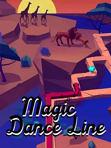 Magic dance line: Music tap tiles