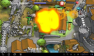 Screenshots von Magic Defenders HD für Android-Tablet, Smartphone.