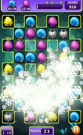 Screenshots von Magic mania für Android-Tablet, Smartphone.