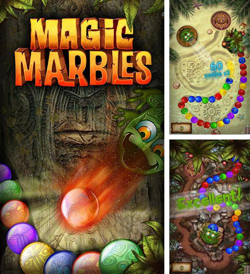 In addition to the game Marble duel for Android phones and tablets, you can also download Magic marbles for free.