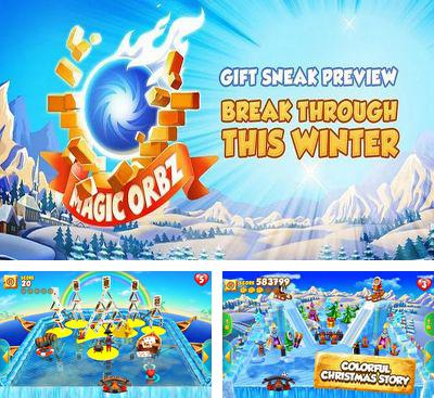 In addition to the game iNoid for Android phones and tablets, you can also download Magic Orbz Holiday Gift for free.