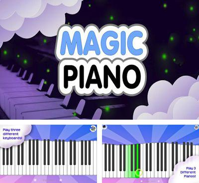 In addition to the game Drums HD for Android phones and tablets, you can also download Magic Piano for free.