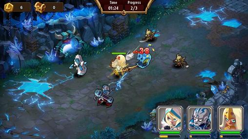 Screenshots von Magic rush: Heroes für Android-Tablet, Smartphone.