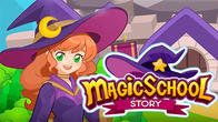 Magic school story APK