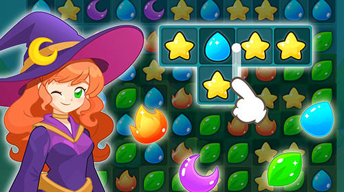 Screenshots do Magic school story - Perigoso para tablet e celular Android.