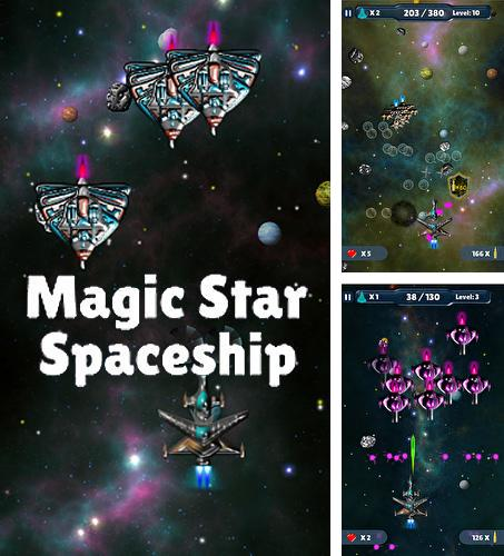 Magic star spaceship
