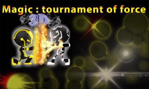 Magic: Tournament of force sci-fi poster