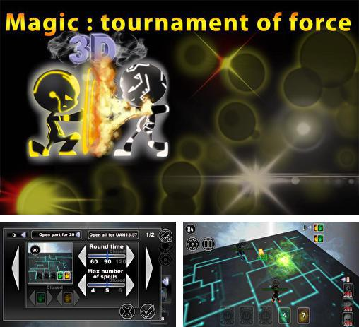 Zusätzlich zum Spiel Up Up für Android-Telefone und Tablets können Sie auch kostenlos Magic: Tournament of force sci-fi, Magic: Tournier der Macht herunterladen.