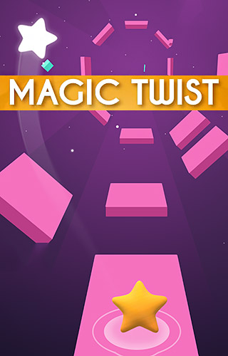 Magic twist: Twister music ball game poster