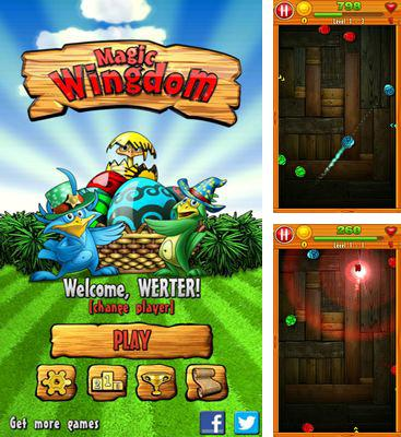 In addition to the game Planet Attack Runner for Android phones and tablets, you can also download Magic Wingdom for free.