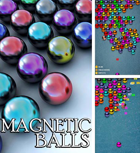Magnetic balls bubble shoot: Puzzle game