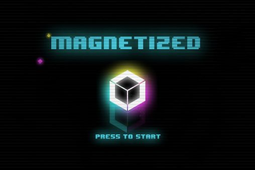 Magnetized poster