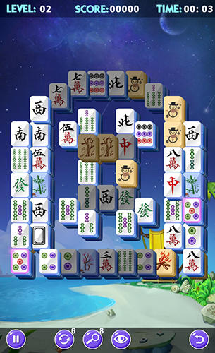 Screenshots von Mahjong 2019 für Android-Tablet, Smartphone.