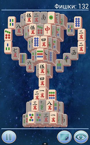 Screenshots von Mahjong 3 für Android-Tablet, Smartphone.