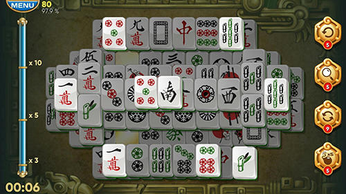 Screenshots von Mahjong adventures für Android-Tablet, Smartphone.