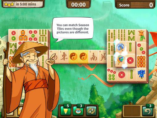 Screenshots von Mahjong journey für Android-Tablet, Smartphone.